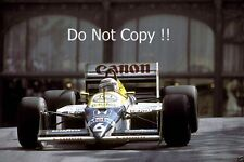 Nelson Piquet Williams FW11B Grand Prix de Mónaco 1987 fotografía 1