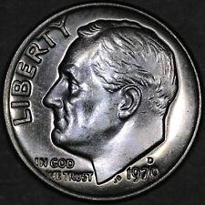 1970-D Roosevelt Dime 10C - Gem Uncirculated - Colorful Toning