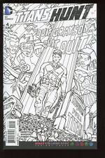 TITANS HUNT #4 ADULT COLORING BOOK VARIANT COVER NM DC COMICS bin16-1716