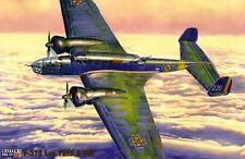 PZL 37 B LOS - WW II BOMBER (POLISH, SOVIET & ROMANIAN MKGS) 1/72 MISTERCRAFT