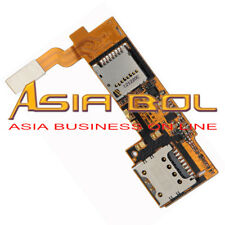 Memory&Sim Card Holders Slot Reader Flex Cable For At&T Lg Optimus G Pro E980