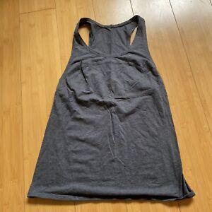 Lululemon Dark Gray Sleeveless Tank top Size 4