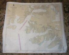 PORT VALDEZ Nautical Chart - PRINCE WILLIAM SOUND, ALASKA -- Loran-C Overprinted