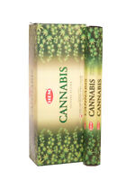 Hem Cannabis Incense Sticks Box Scent 5 pack x 20 Stick = 100 Sticks