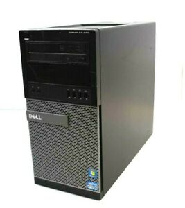Dell OptiPlex 990 MT Intel i5-2400 3.1GHz 8GB DDR3 WIN7COA No HDD
