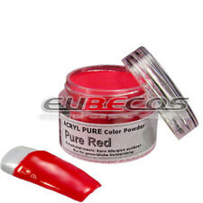 Acryl Puder Acrylpulver Pigment Colour Powder 3g FARBE 31 PURE RED