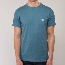Magliette da uomo a manica corta blu Pretty Green