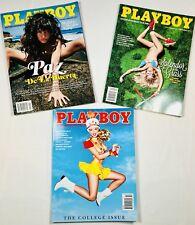 Playboy magazines set- January/February,September, October ,2013. Like new!