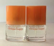 2X Clinique Happy Perfume Mini Spray EDP total 0.28oz / 8ml