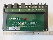 GoTronic 559100 220V 3Ø Powerline Monitor, New