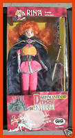 Slayers Spells Of Rina MIB Gig Lina Inverse Manga Action Figure Doll
