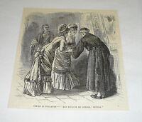 1878 magazine engraving ~ SAN IGNACIO DE LOYOLA ~ Cuba