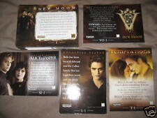 TOPPS TWILIGHT NEW MOON MASTER SET 89 CARDS T-1 L-1