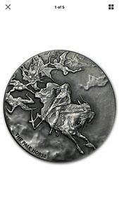 Pale Horse 2 oz .999 Silver Coin - Biblical Series 2015