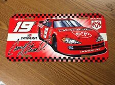 Nascar Dodge #19 Casey Atwood Liscence Plate New