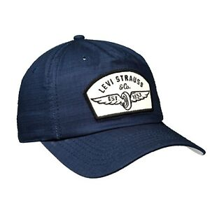 Levi's Strauss & Co. MOTOR CITY Patch Ripstop Dad Cap $32 - NEW & RARE