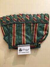 Longaberger Imperial Stripe Hostess Booking Chives Basket Fabric Liner