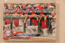 2018 Topps Series 1 and 2 Complete Team Set - PRE-SELL - Philadelphia Phillies