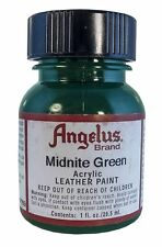 Angelus Brand Acrylic Midnight Green - 1 fl.oz.