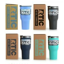 RTIC 40oz Stainless Steel Tumbler Rambler w/ Spill Proof Lid Vacuum Insulated