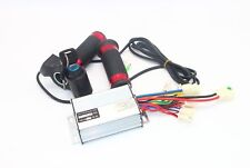 1000W 36V DC Brushed Motor Speed Controller Box &Twist Throttle Grip with Key