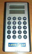 gadget gooyear calcolatrice convertitore lire euro