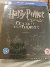 Harry Potter and the Order Of The Phoenix Blu-Ray Steelbook BRAND NEW SEALED