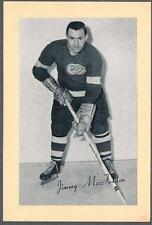 1944-63 Beehive Hockey Premium Group 2 Photo Detroit Red Wings #193 Jim McFadden