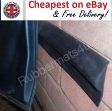 2 pcs x 2ft Solid Rubber Garage Car Door Protector Wall BUFFER GUARD + Adhesive