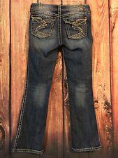 "SILVER JEANS CO. Women's ""Suki Surplus"" Boot Cut Jeans Size 27 X 32 Flap Pockets"