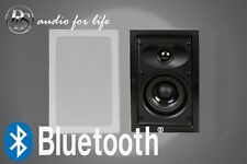 "DLS 4"" INDOOR OUTDOOR HI-FI WALL CEILING SPEAKERS WITH BLUETOOTH AMPLIFIER"