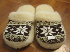 Comfy Winter Wool Slippers Made in Ukraine