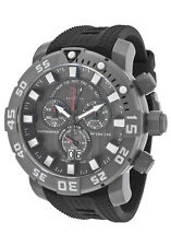 New Mens Invicta 14248 Sea Base Swiss Chronograph Polyurethane Rubber Watch