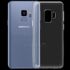 Waterproof Crystal Soft Slim TPU Silicone Case f Samsung Galaxy S9 Plu