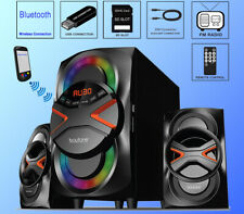 BOYTONE Bt-626f Bluetooth Speaker System Subwoofer 2.1 Channel 54w FM Radio