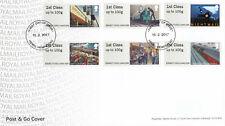 (42461) GB FDC Post and Go Mail by Rail Hemel Hempstead 2017