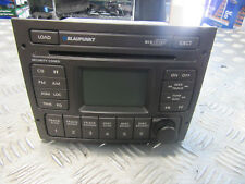 HOLDEN COMMODORE VY VZ CAR STEREO 6 STACKER CD PLAYER GREY WITH PINCODE