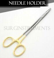 """TC Mayo Hegar Needle Holder 5"""" Serrated Dental Surgical"""