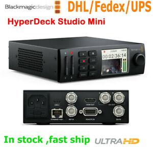 Blackmagic Design Hyperdeck Studio Mini ultra MD LCD recorder broadcast deck