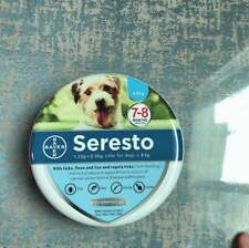 New listing New Bayer Seresto Flea and Tick Collar for Small Dog,Up to 18lbs 8 Month*Sealed*