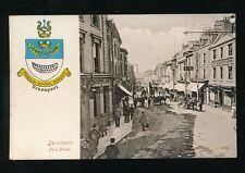 Devon DEVONPORT Fore St Military Arms Inn Heraldic c1900s? PPC