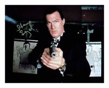 STEVEN SEAGAL SIGNED AUTOGRAPHED A4 PP PHOTO POSTER 1