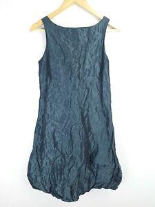 Digbys Dress Green Emerald Crushed Metallic Sleeveless Dress SIZE 1