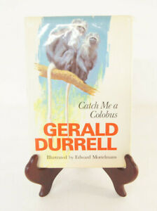 Catch Me A Colobus Gerald Durrell Edward Mortelmans Hardcover Book 1972 Viking