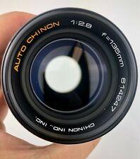 Auto Chinon 135mm f/2.8 M42 lens Perfect condition