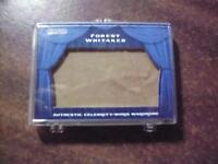 FOREST WHITAKER 2010 RAZOR , AUTHENTIC CELEBRITY WORN WARDROBE CARD #SW-26