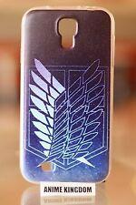 USA Seller Samsung Galaxy S4 Anime TPU Phone case  Attack on Titan Symbol