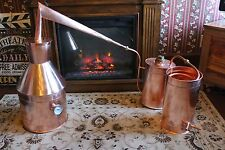 4 Gallon Copper Moonshine Still / copper condensing can Thump Keg By Ron