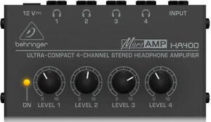 Behringer Microamp Ha400 Headphone Amp