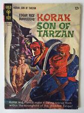Korak son of Tarzan #7 Gold Key 1965 in GD Condition Russ Manning Art